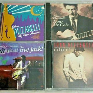 Four Music CDs John Pizzarelli - Naturally My Blue